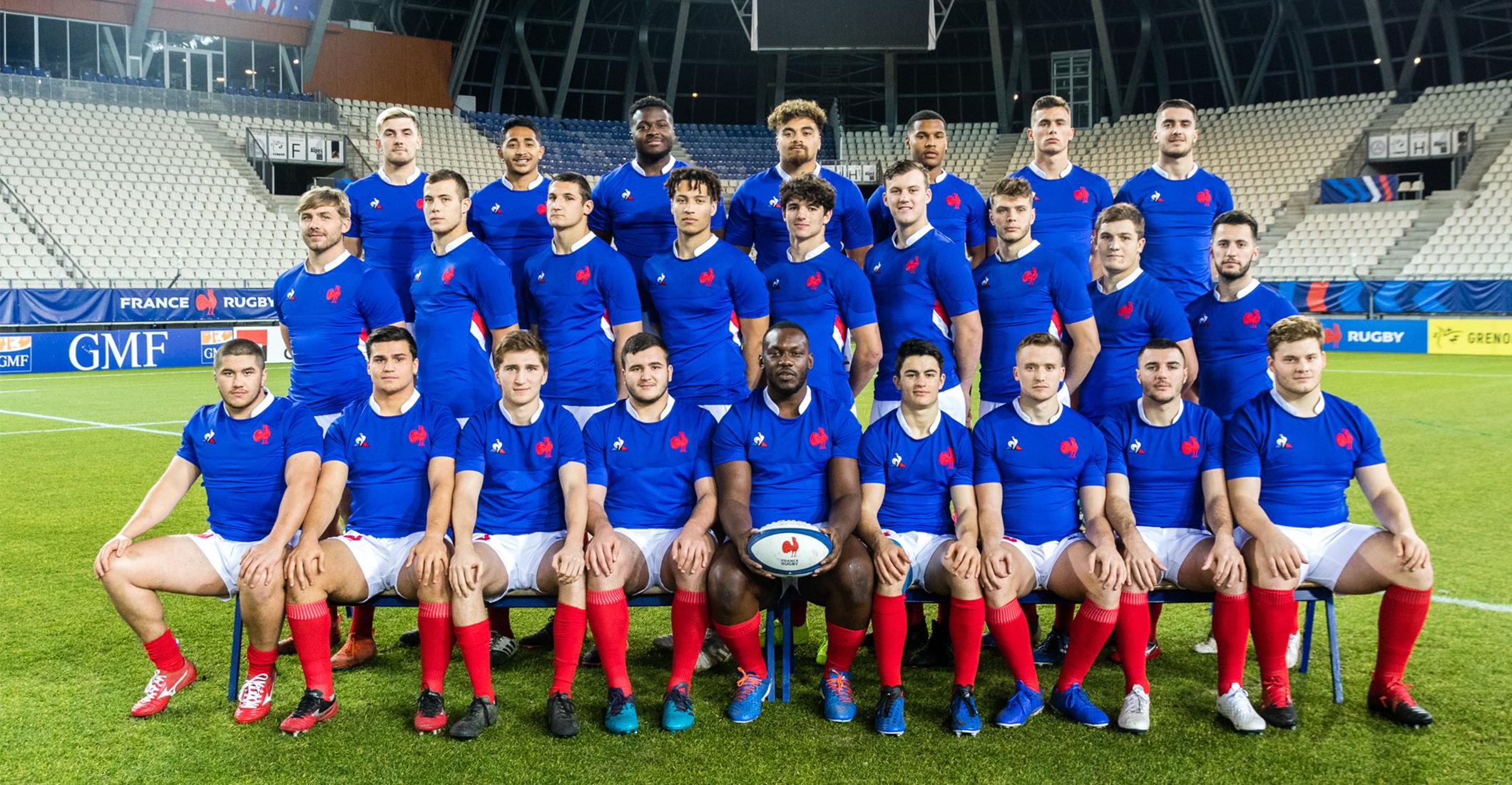 France moins de 20 ans   Fédération Française de Rugby